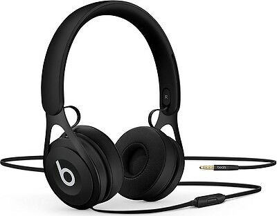 Beats by Dr Dre EP Wired On-Ear Headphones with Built-In Mic (Black) B+