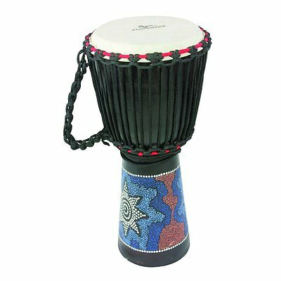 Percussion Workshop BDJ Jammer Hand Painted Djembe in Various Sizes