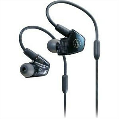Audio-Technica In-Ear Quad Armature Driver Headphones with In-line Mic &