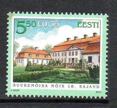 Estonia Mnh 2010 Sg623 Architecture
