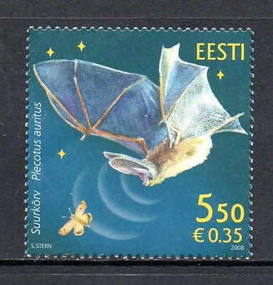 Estonia Mnh 2008 Sg566 Fauna - Bat