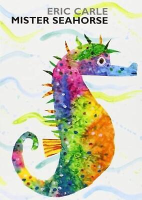 Mister Seahorse by Eric Carle (English) Board Books Book Free Shipping!