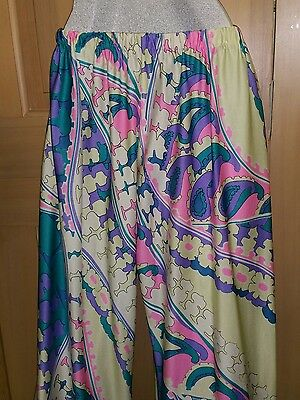 Vintage 60s Rose Marie Reid Small Mod Max Art Long leg Pants