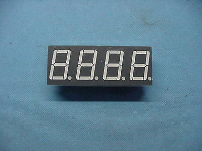 "(10) A-564H-Bw 36 Pin Common Anode 7 Segment Led Four Digit 0.56"" Red Display"