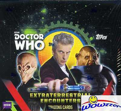 2016 Topps Doctor Who Extraterrestrial Encounters HUGE Sealed 16 Pack Retail Box