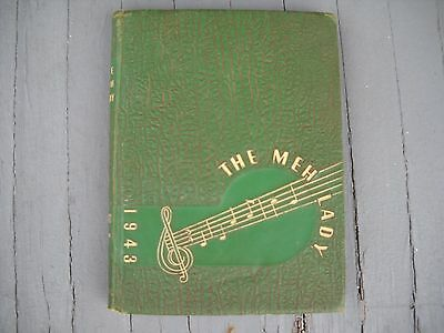 Vintage 1943 Mississippi State College for Women Yearbook