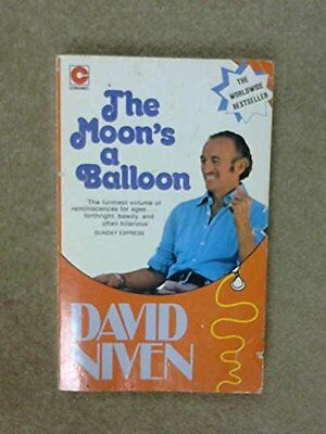 The Moon's A Balloon, David Niven Paperback Book The Cheap Fast Free Post