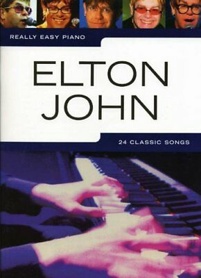 Really Easy Piano Elton John Pf by Various Paperback Book The Cheap Fast Free