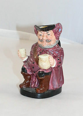 13.5cm or 5 1/2 inch ROYAL DOULTON FALSTAFF TOBY JUG D8328