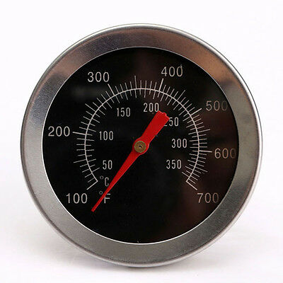 100~350℉ Cooking Barbecue BBQ Smoker Grill Thermometer Oven Temperature Gauge UK