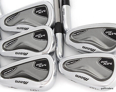 Mizuno Mx-300 Y-Tune Pro Irons 6-Pw Proforce 75 Gold Graphite Regular - #d5328