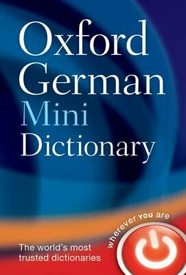 Oxford German Mini Dictionary Paperback Book The Cheap Fast Free Post