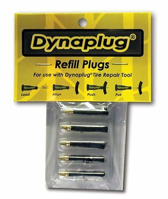 5 X Replacement Plugs For Dynaplug Tubeless Tyre Repair Kit