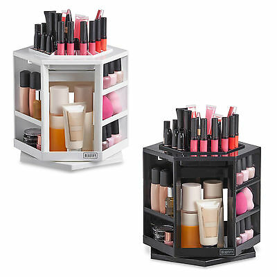 Beautify 360° Rotating Makeup Organiser Storage Cosmetics Holder Display Stand