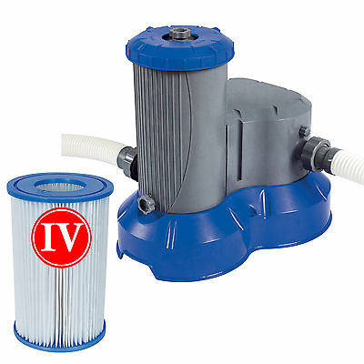 Bestway Flowclear 9463litre Filter Pump for Pools up to 24ft with 38mm fittings