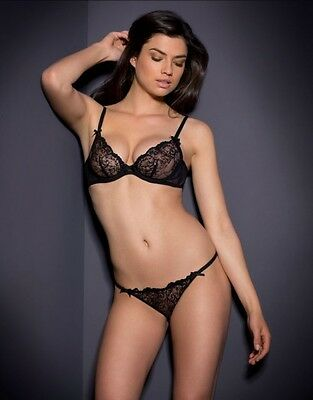 Agent Provocateur Laretta Bra And Brief Set Size 36D Large   Ap4   12-14 2b98afe91