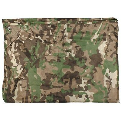 New Lightweight Camouflage Shelter Sheet / Basha / Ground Sheet Tarpaulin