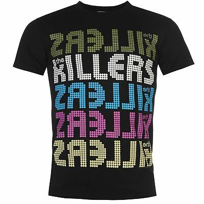 Official Mens The Killers T Shirt Crew Short Sleeve Casual Printed Tee Top