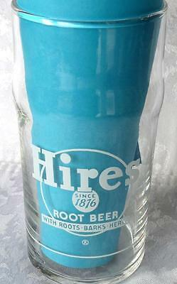 1940's  Hires Root Beer, Syrup Line Glass,  With Roots, Barks & Herbs,Never Used