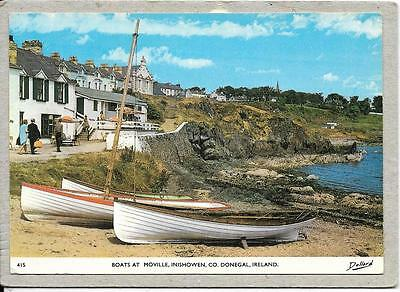 Boats At Moville - Inishowen - Co Donegal - Ireland  Postcard