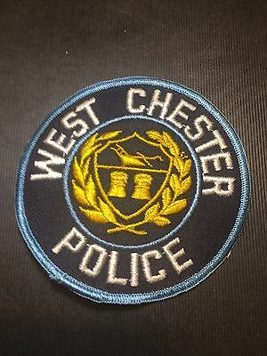 West Chester Pennsylvania  Police  Shoulder  Patch   Old