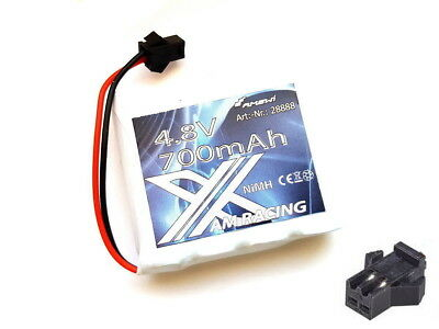 Akku RC Pack 4,8V 700mAh Ni-Mh AM X Racing