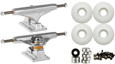 INDEPENDENT 149mm Skateboard TRUCKS 52mm Wheels and Bearings COMBO PACKAGE
