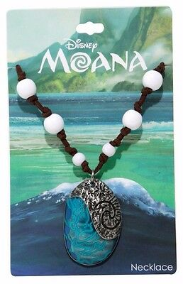 Disney Official Licensed Moana Heart Of Te Fiti Replica Necklace Brand New