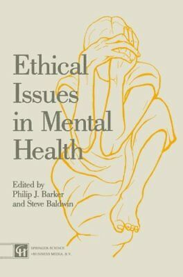 Ethical Issues in Mental Health Paperback Book The Cheap Fast Free Post