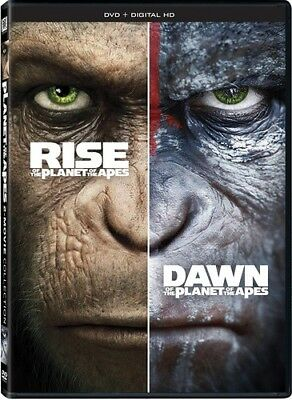 Rise Of The Planet Of The Apes / Dawn Of Planet Of DVD