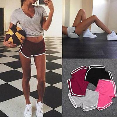 Women's Girl Lady Shorts Yoga Fitness Gym Running Casual Beach Workout Pants CA