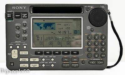 Sony ICF-SW55 Shortwave AM FM Radio Receiver ***NICE UNIT***