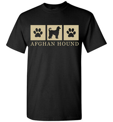 Afghan Hound Silhouette T-Shirt - Mens Short, Long Sleeve, Womens, Youth, Tank
