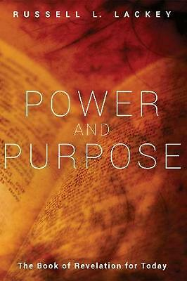 Power and Purpose by Russell L. Lackey (English) Hardcover Book Free Shipping!