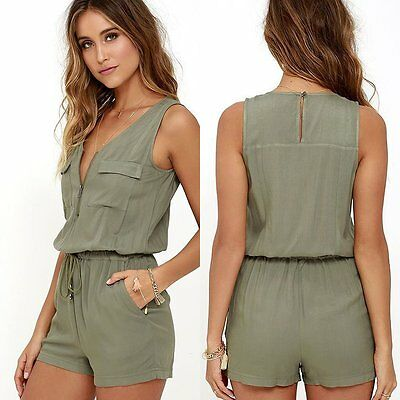 1pc Womens Romper Shorts Jumpsuit Ladies Summer Clothes Party Clubwear Playsuit