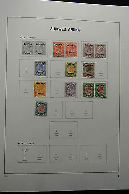Lot 25425 Collection stamps of South West Africa 1923-1985.