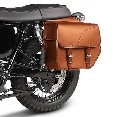 Saddle Bag Triumph Bonneville T100 / Bonneville T120 Kentucky 30l brown pair