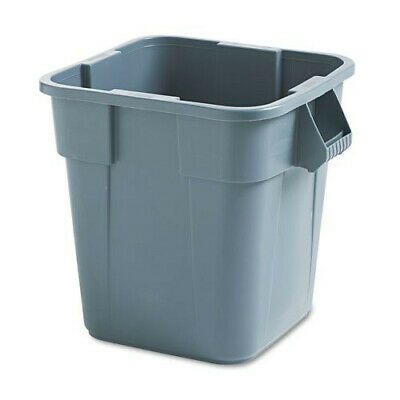 Rubbermaid 28 Gal. Square Brute Container (Gray) 352600GY NEW