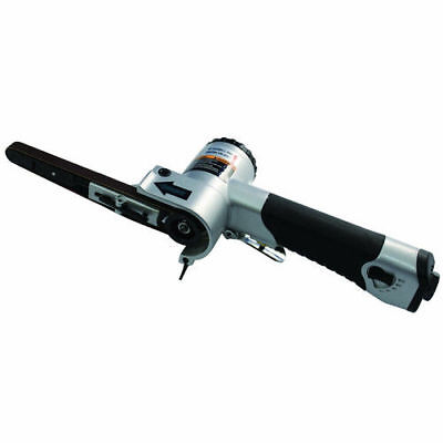 """Astro Pneumatic Air Belt Sander with 3/8"""" x 13"""" 80/100/120-Grit Belts 3036 New"""