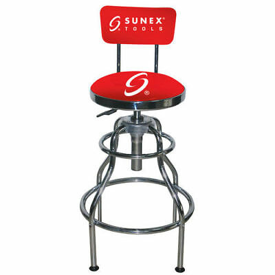 Sunex Tools Sunex Hydraulic Shop Stool(Chrome) 8516 NEW
