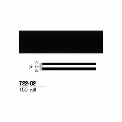 3M Scotchcal Striping Tape, Black, 1/4 in. x 150 ft. 72202 new