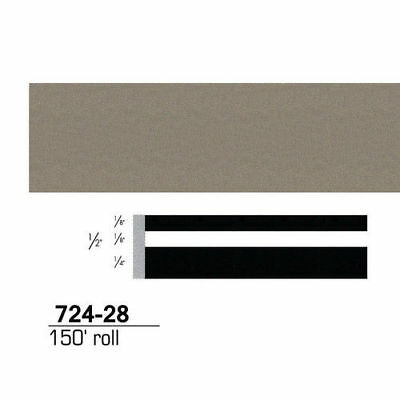 3M Scotchcal Striping Tape, Pewter, 1/2 in. x 150 ft. 72428 new
