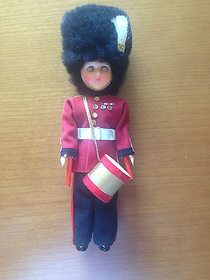 Vintage British Guards Side Drummer Doll !!