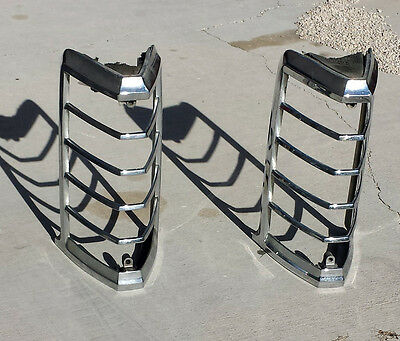 1974 1975 1976 1977 1978 1979 Lincoln Continental Front Turn Signal Bezels