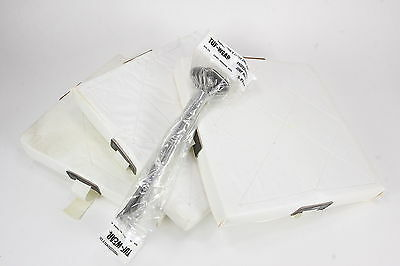 Vintage Baseball Base Set 4305F Includes 3 Vinyl-Covered Foam Bases & 6 Spikes
