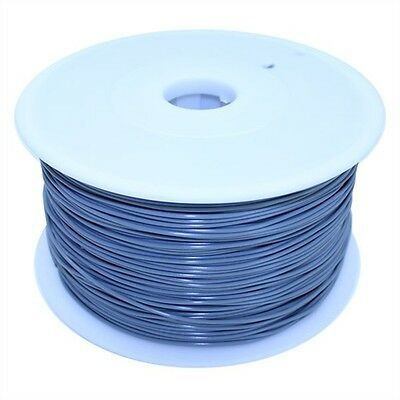 Dockwell 3D Printer PLA Filament 1.75mm 1kg Solid Grey DW-PLA175S1A-GRY