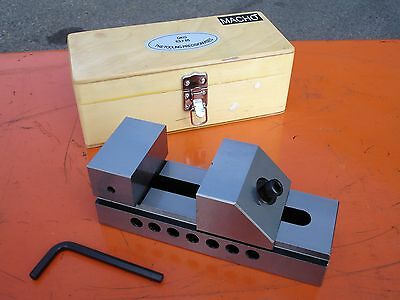 """63mm-2.5"""" QKG Quick Action Precision Fully Ground Machine Toolmakers' Vise/Vice"""