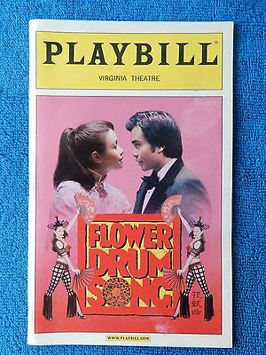 Flower Drum Song - Virginia Theatre Playbill - November 2002 - Lea Salonga