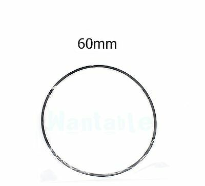60mm Rubber Drive Belt Replacement Part for Cassette Tape Deck Recorder