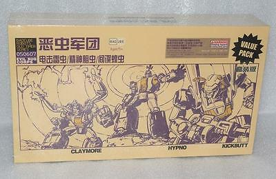 New Transformes BadCube OTS-5/6/7 Evil Bug Cprps Insecticons Set Special offer